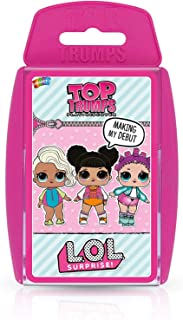 Winning Moves Top Trumps Lol Surprise Card Game, Pink, 032803