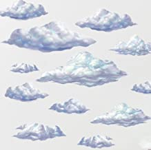 Create-A-Mural : Sky Cloud Wall Decals ~ Beautiful Cloud Wall Stickers Room Decor Appliques'