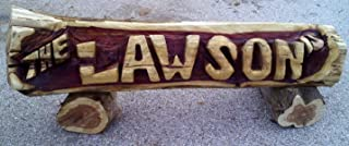 Best carved log name signs Reviews