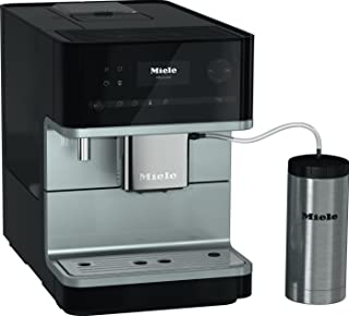 Miele CM6350 Countertop Obsidian Black Coffee Machine (Renewed)