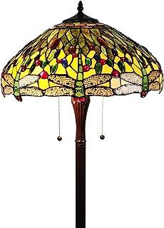 Amora Lighting Tiffany Style Floor Lamp Standing 62