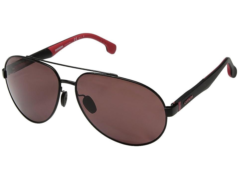 Carrera Carrera 8025/S (Matte Black) Fashion Sunglasses