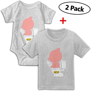KAYERDELLE I Pooped Today Long-Sleeve Unisex Baby Bodysuits for 6-24 Months Boys /& Girls