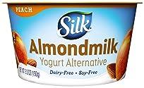Silk Almondmilk Yogurt Alternative, Peach, Vegan, 5.3 oz