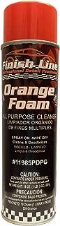 orange clean foam
