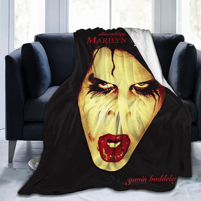 Longhui Marilyn Louisville-Jefferson County Mall Man-Son Indianapolis Mall Blanket Fleece Flannel Micro Ultra-Soft