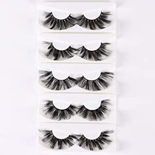 25mm Lashes Faux Mink 5 Dramatic Styles Long Volume Eyelashes Stirp Thick False Eyelash 3D/4D/5D/6D