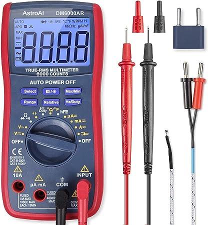 AstroAI Digital Multimeter TRMS 6000