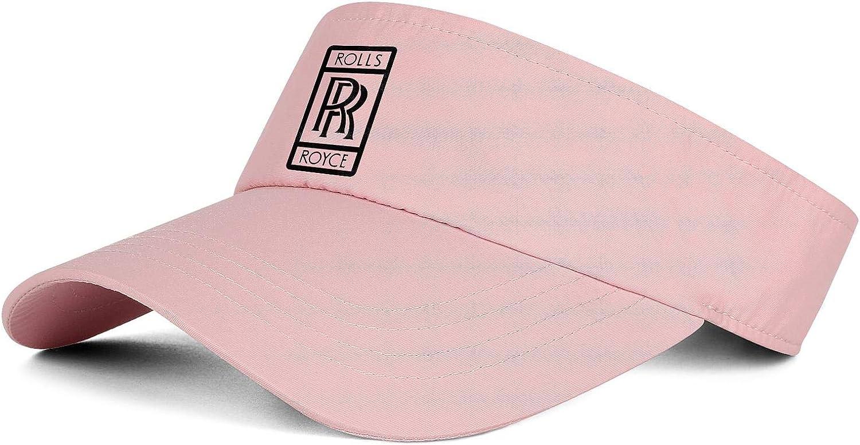 SALENEW 2021new shipping free shipping very popular Womens Men Sun Sports Visor Rolls-Royce-Logo- Baseball Beanie Ha