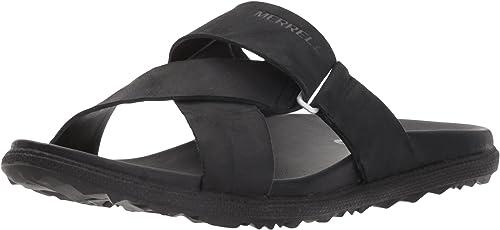 Merrell Wohommes Around Town Sunvue Slide Sandal, noir, 8 Medium US