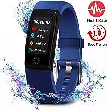 MorePro Fitness Tracker Tracker Activity Waterproof با مانیتور فشار خون ، ضربان قلب صفحه نمایش رنگی ، دستبند هوشمند صفحه نمایش رنگی و شمارنده کالری کالاهای ردیابی خواب ، تماشای گام شمار برای کودکان و نوجوانان زنانه