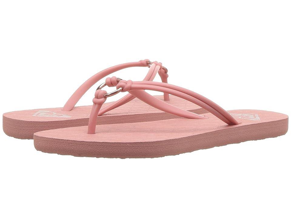 Roxy Kids Solis (Little Kid/Big Kid) (Pink) Girls Shoes