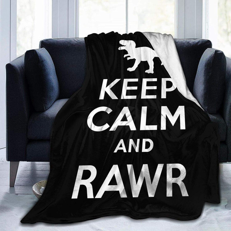 Keep Minneapolis Mall Calm Nippon regular agency and Rawr Blanket Super Micro Soft Comfortable