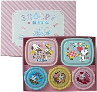 SNOOPY フードキーパー アソート5Pセット 6329