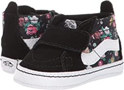 (Butterfly Floral) Black/Black