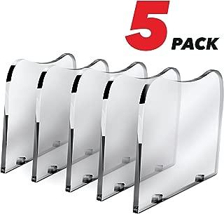 Dividers for Poweroni Charging Station - 5 Pack - Plastic Separators for Docking Station - Baffles for Charging Dock