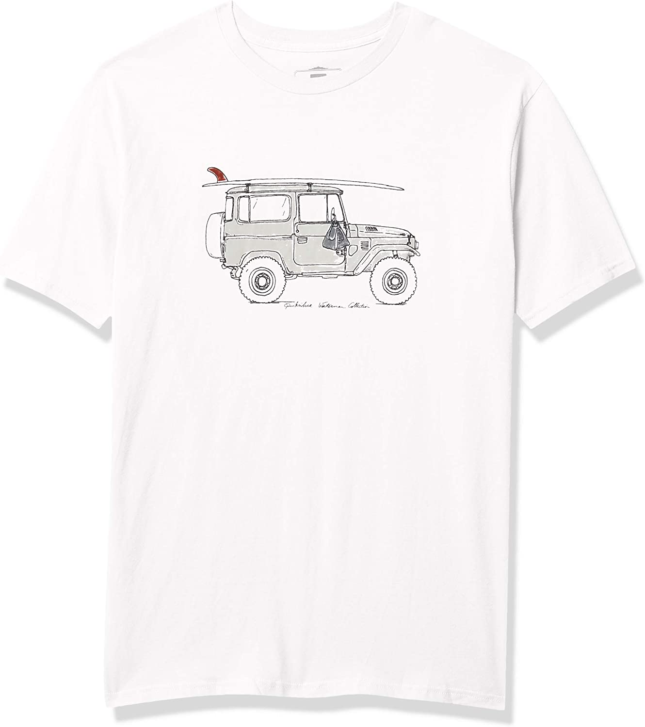 Quiksilver Mens Point Lookout Tee