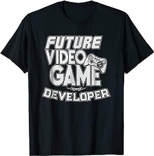 Future Video Game Developer T-Shirt Cool Gaming Tee