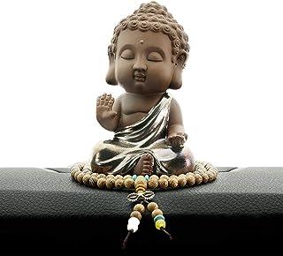佛像 释迦 如来 迷你 迷你 小型 摆件 木雕 可爱 佛龛 本尊 迷你,B