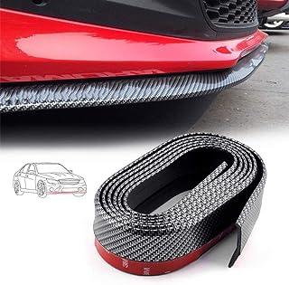 Universale auto paraurti anteriore labbro pinne splitter corpo spoiler Canards Valenceack