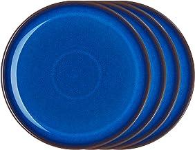 طقم أطباق كوبيه من دينبي IMP-004B/4 - مقاس واحد، ازرق كوبالت