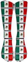 Coloring Pages Mexican Flag Printable Soft Casual Fashionable Long Knee High Socks Stockings 50cm