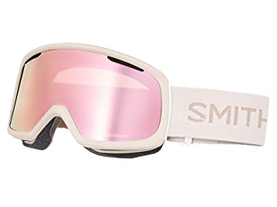 Smith Optics Riot Goggle (Tusk/Chromapop Everyday Rose Gold Mirror/Yellow) Snow Goggles