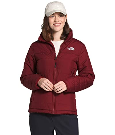 The North Face Mossbud Insulated Reversible Jacket (Pomegranate) Women