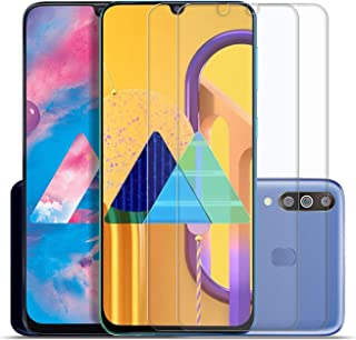 SupCares Premium Tempered Glass Screen Protector for Samsung Galaxy M30S / Samsung Galaxy M30 / Samsung Galaxy A50S / Samsung Galaxy A50 / Samsung Galaxy A30S / Samsung Galaxy A30 with Easy Installation Kit (Transparent) [Pack of 2]