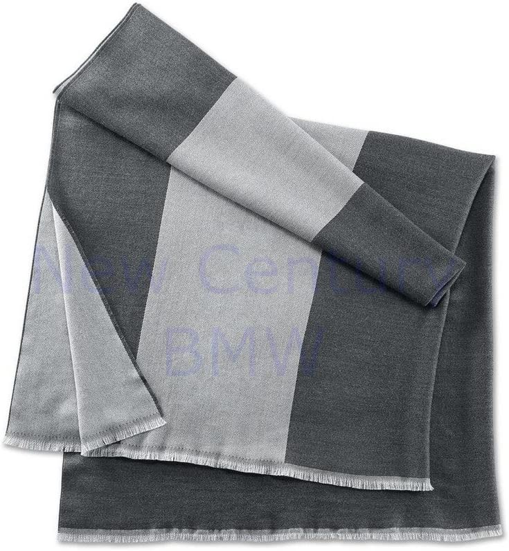 BMW Genuine Summer Unisex Scarf Outstanding - Gray Aluminum Space Philadelphia Mall