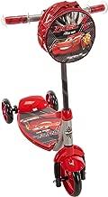 Huffy Disney Pixar Cars 3 Boys 3-Wheel Preschool Scooter