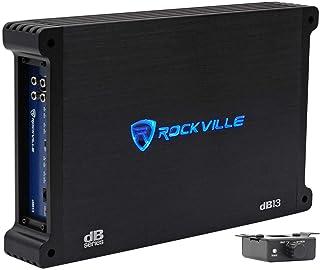 Rockville dB13 3000 Watt Peak / 750w RMS @ 2 Ohm CEA Compliant Mono Car Amplifier