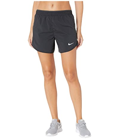 Nike Tempo Lux 5 Shorts (Black/Anthracite/Reflective Silver) Women