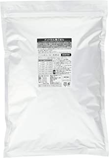 ドットわん ドッグフード 魚ごはん お得用パック 3kg(1kg×3袋)