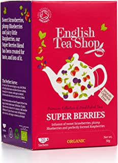 Best english tea shop super berries Reviews