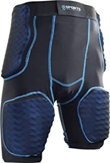 Sports Unlimited Adult 5 Pad Integrated Football Girdle 2.0