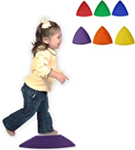 Get Out! Kids Stepping Stones 6-Pack – Balance and Eye Coordination Toy Training Tool for Children & Physical Therapy