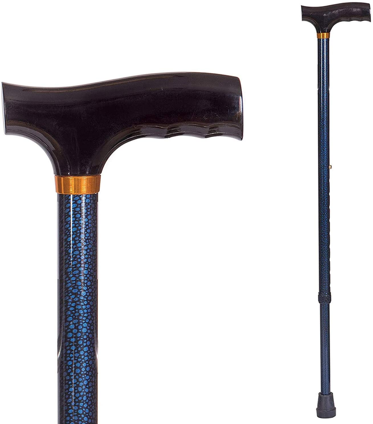 DMI Lightweight Aluminum Adjustable NEW Cane with Derby-Top Walking Ranking TOP14