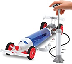 Discovery Kids Turbo Air Racer DIY Air-Powered Dragster Kit, You Build It, All Parts Included, Fast Alternative-Power Toy Racecar, No Batteries Needed, Fun Science Project for Boys and Girls