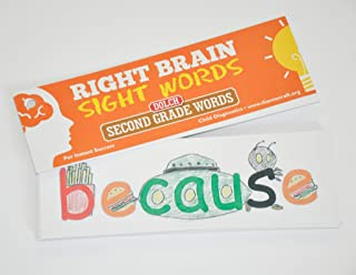 Craft Right Brain Dolch Second Grade Sight Words Cards