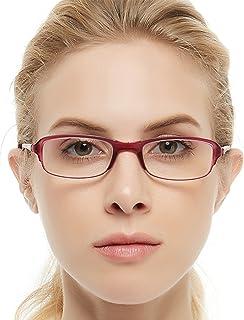 48d6e9ed01 OCCI CHIARI Womens Mens Lightweight Designer TR90 Stylish Rectangular Reading  Glasses 1.5 2.0 2.5 3.0