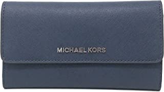 08bdb3739b19 Michael Kors Women's Jet Set Travel - Large Trifold Wallet