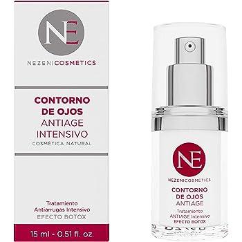 Nezeni Contorno Antiage Efecto Botox – 15 ml - BAJO CONSERVANTES 2 años caducidad cerrado