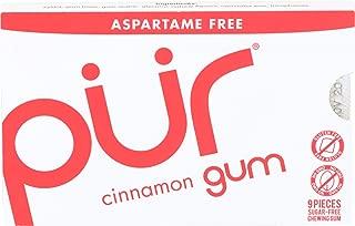 Pur, Gum Cinnamon Pack, 9 Count
