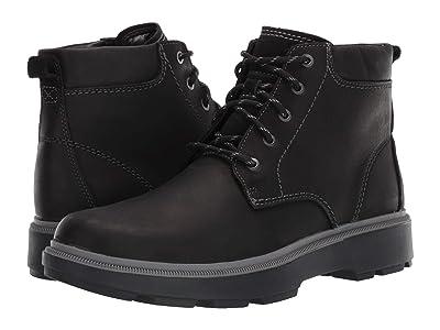 Clarks Dempsey Top (Black Leather) Men
