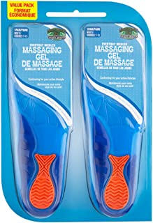 Everyday Women's Massaging Gel Insole 2 Pack One Size