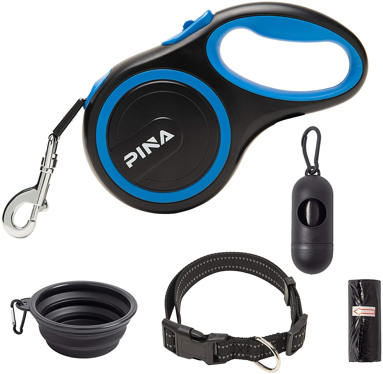 PINA Retractable Dog New arrival Leash 26ft Larg Medium Small for Classic