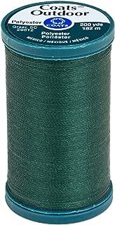 Coats Outdoor Living Thread, 200-Yard, Scots Green