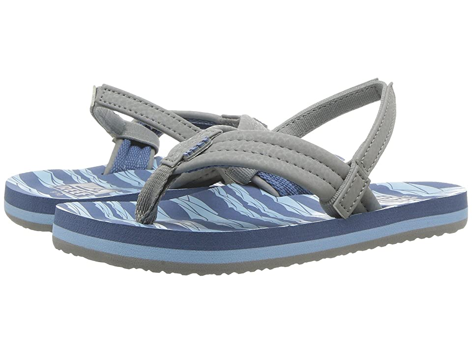 Reef Kids Ahi (Toddler/Little Kid/Big Kid) (Blue/Grey Ocean) Boys Shoes