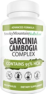 Garcinia Cambogia Complex (60 Capsules) Garcinia Cambogia Extract HCA 95%; Appetite Suppressant and Weight Loss for Women ...